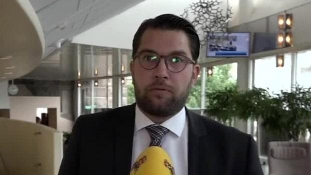 "Krasslig Jimmie Åkesson: ""Man får ha torrhosta"""
