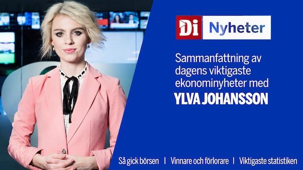 Di Nyheter: Uppåt på börserna efter gårdagens tunga fall