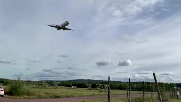 Här landar Malmö - efter flygkaoset