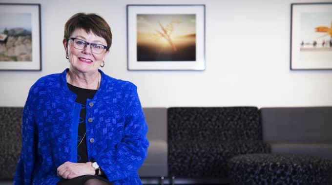 – De flesta chefer har en ganska normal lön, säger ordförande Annika Elias. Foto: Pressbild / PRESSBILD