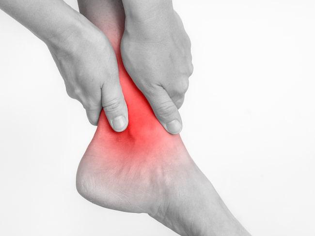 inflammation i fotled symptom