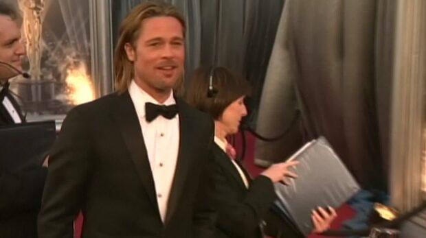 Brad Pitts livvakt nermejad av bilist