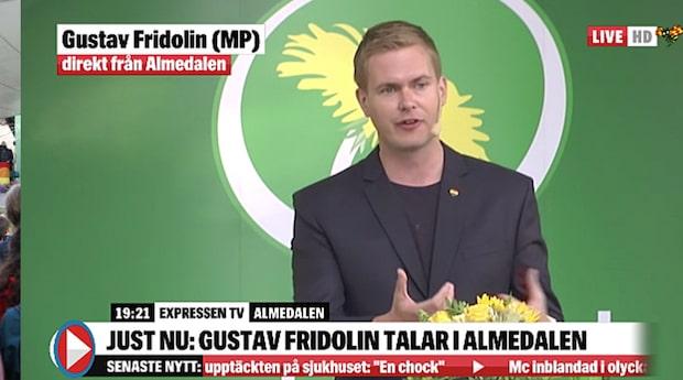 """Gustav Fridolin (MP): """"Nästa generations barn kommer att behöva betala"""""""