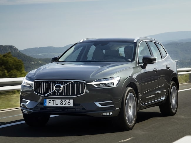 XC60 är Volvo-modellen som säljer bäst.