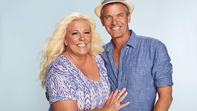 Mia och Jesper Parnevik. Foto: / FOTO: TV3/LINUS HALLSéNIUS