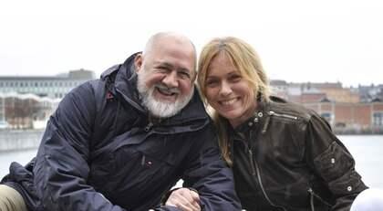 TILLSAMMANS IGEN. I kväll är det dags att återknyta bekantskapen med skeppskocken German Zamudio och programledaren Anne Lundberg. Foto: Christer Wahlgren