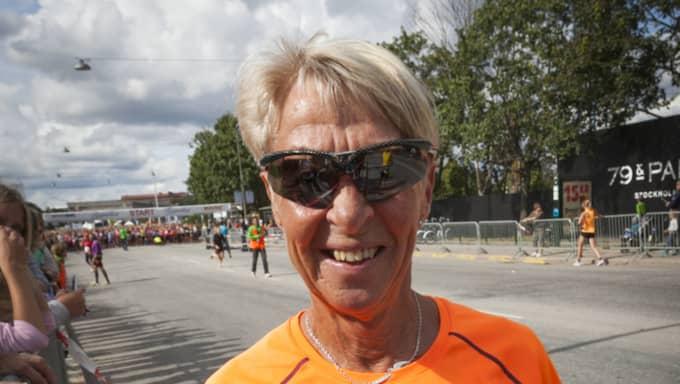 Löparlegendaren Evy Palm har nyss varit på träningssemester. Foto: Johan Jeppsson / JOHAN JEPPSSON EXPRESSEN