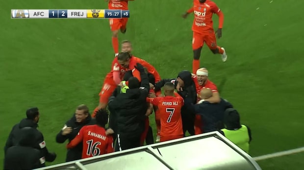 Highlights: AFC Eskilstuna-Frej