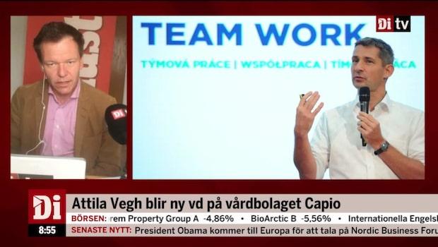 Capio fortsätter trend - hämtar vd från utlandet