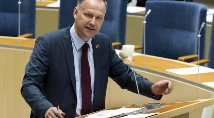 Jonas Sjöstedt, partiledare för Vänsterpartiet. Foto: Gunnar Ask