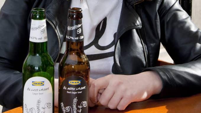 Ikea stoppar all försäljning av öl och vin på sina varuhus. Foto: John Phillips
