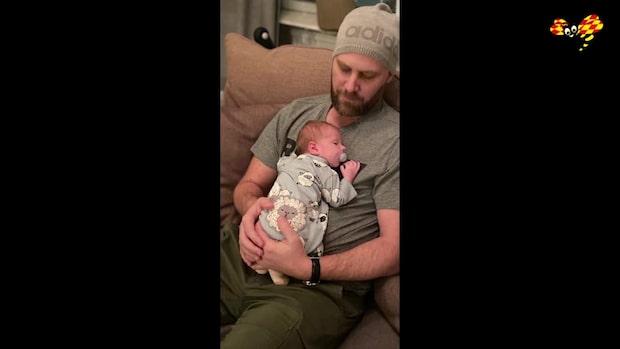 Småbarnspappan mördades när han gick ut med soporna