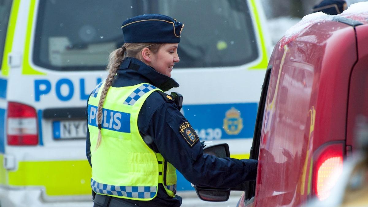 Extra många poliskontroller i helgen – fokus är nykterhet
