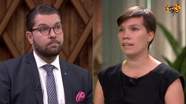 """Attacken på Åkesson: """"Vill inte hjälpa på plats"""""""