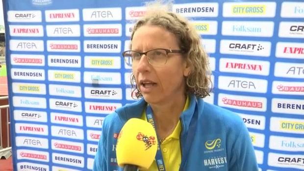 """Förbundskaptenen om rekordsegern: """"Jätteroligt"""""""