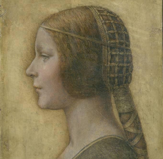 La Bella Principessa lanserades som en nyupptäckt Leonardo da Vinci, men allt fler ifrågasätter äktheten. Och utställningen i Göteborg slutade med hot om konkurs och skulder på 16 miljoner kronor. Foto: Lumiere Technology