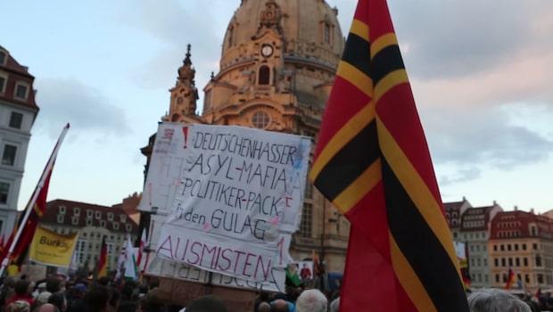 Högernationalister mot valskräll i Tyskland