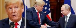 Trumps ord efter mötet med Putin