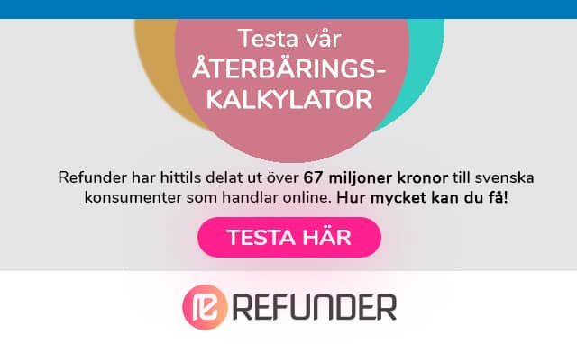 Expressen Refunder Kalkylator