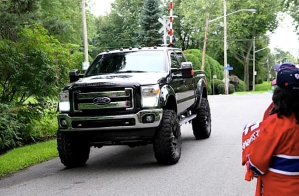 7. Carey Price, Ford F-250