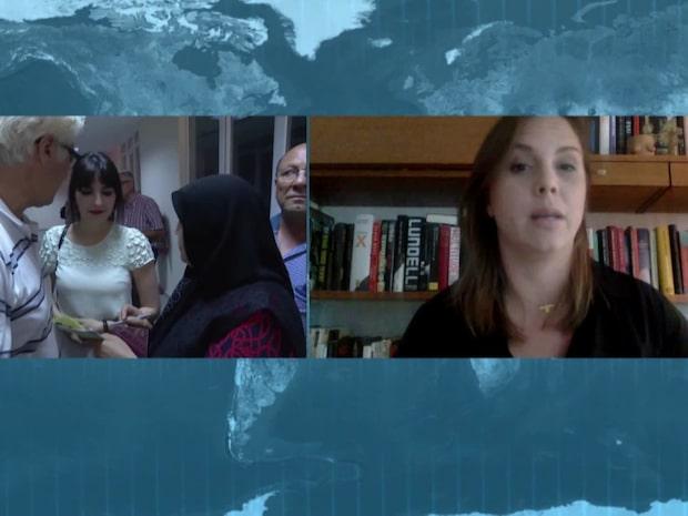 S-ledamoten avslöjas av tv-bilderna från Turkiet