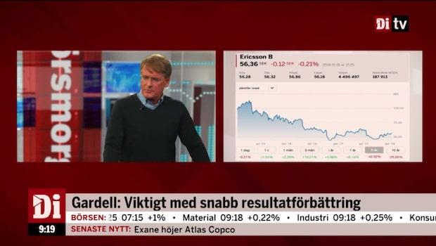 Christer Gardell ger sin syn på framtiden i Ericsson