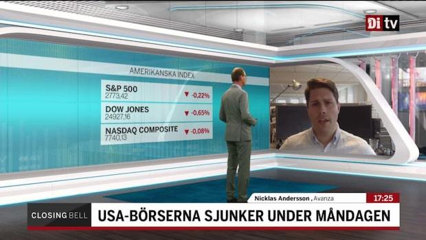 """Andersson: """"Det var lite initial oro kring handelstullarna"""""""