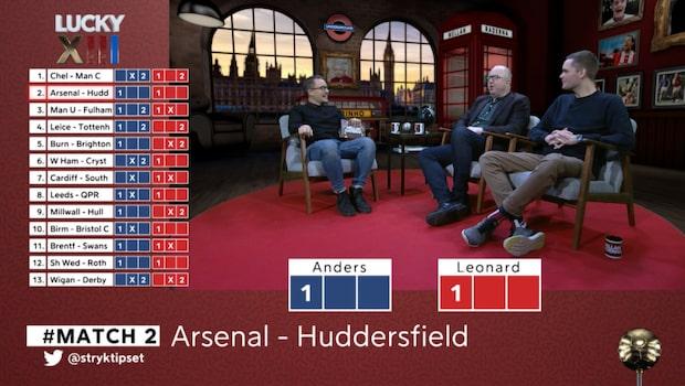 """Lucky XII: """"Arsenal ser så härligt bra ut"""""""