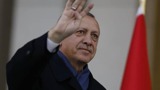 Erdogan. Foto: TUMAY BERKIN / EPA / TT