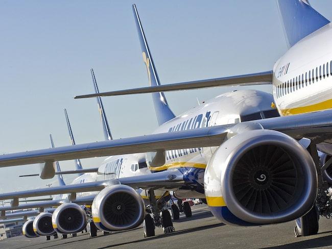 Ryanair börjar flyga till Edinburgh igen.