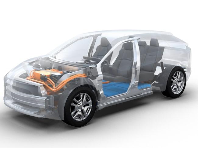 Nästa år visas Subarus elbil upp på olympiska spelen i Tokyo.
