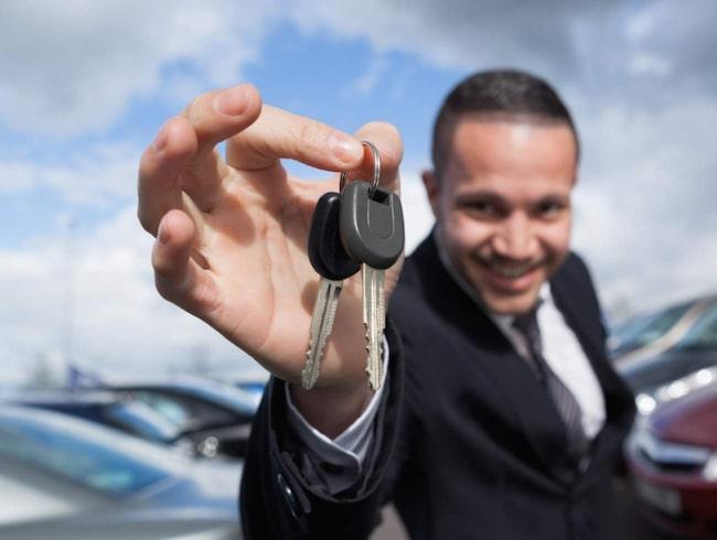 Många är duktiga på att sälja sina bilar på Blocket.