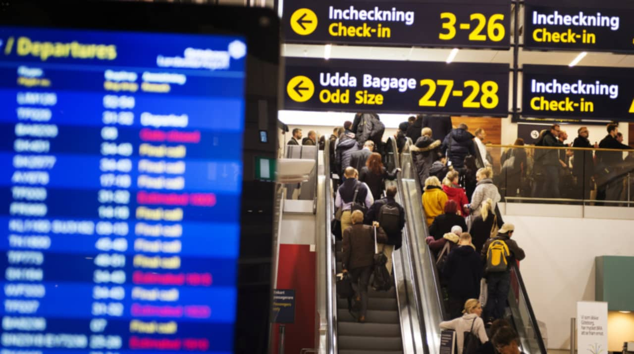 ryanair bagage incheckning
