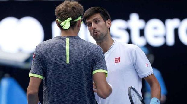 Skrällen: Djokovic utslagen i Australian Open