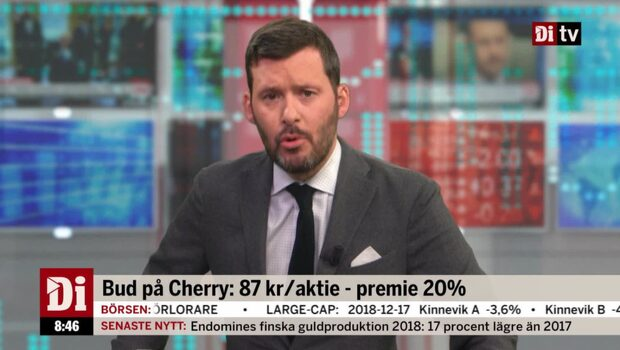 "Experten om budet på Cherry: ""Konkurrensen har ökat"""