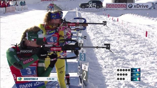 Se Hanna Öbergs mäktiga upphämtning