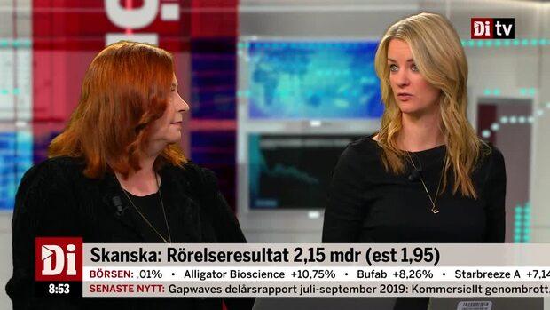 """Analytikern och strategen om Skanska: """"En bra rapport"""""""
