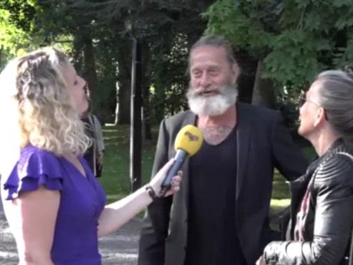 Björn Ranelid om nya stilen: Yngsta sonen som vill det