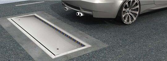 FALLUCKA I VÄGEN. Actibump heter systemet som ska stoppa fartsyndare.