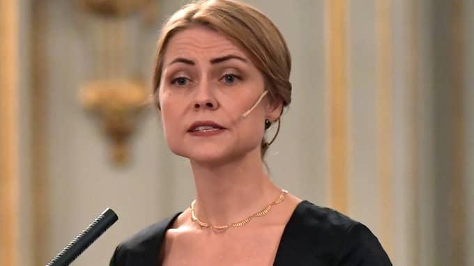 """Jayne Svenungsson berättar nu att hon röstade mot att utesluta Frostenson, och kallar avhoppen """"destruktivt för Akademiens framtid"""". Foto: JONAS EKSTRÖMER/TT"""