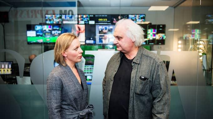 Maria Rankka debatterade mot Göran Greider i Bara politik. Foto: ANNA-KARIN NILSSON