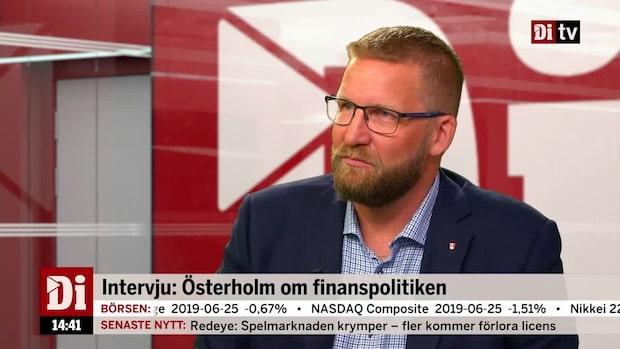 Intervju: Österholm om finanspolitiken