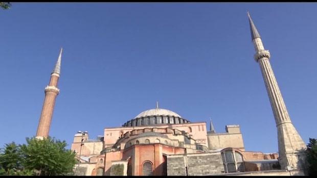 Hagia Sofia görs om till moské