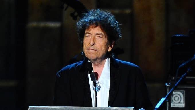 Bob Dylans Nobelföreläsning innehåller passager som har stora likheter med en text på en läxhjälpssajt. Foto: VINCE BUCCI / AP TT NYHETSBYRÅN