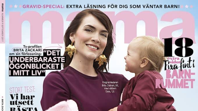 Hollywoodfrun berättar för tidningen Mama om planerna efter förlossningen.