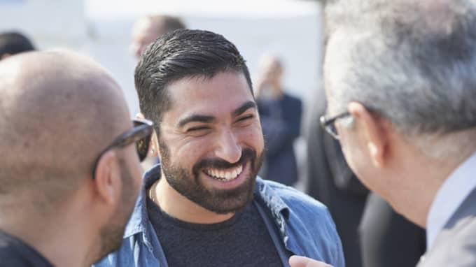 Siavosh Derakhti ska invigningstala för Stockholm Pride. Foto: Stefan Lindblom/Hbg-Bild