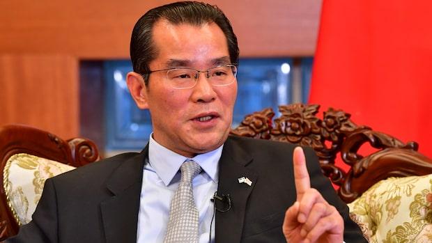 Kinas ambassadör till angrepp mot Expressen