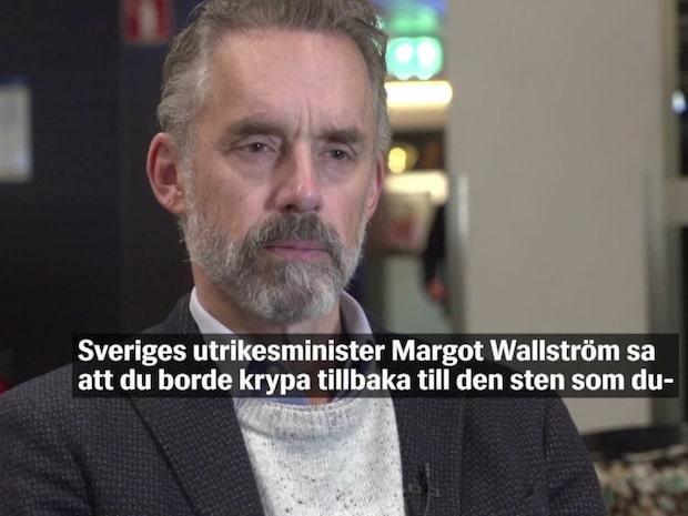 Jordan B Petersons hårda svar till Margot Wallström