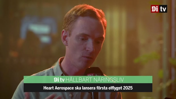 """Heart Aerospaces grundare - """"Realistiskt med elplan 2025"""""""