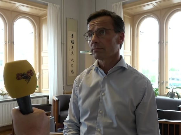 Ulf Kristersson (M) om Erik Ullenhags (L) avhopp